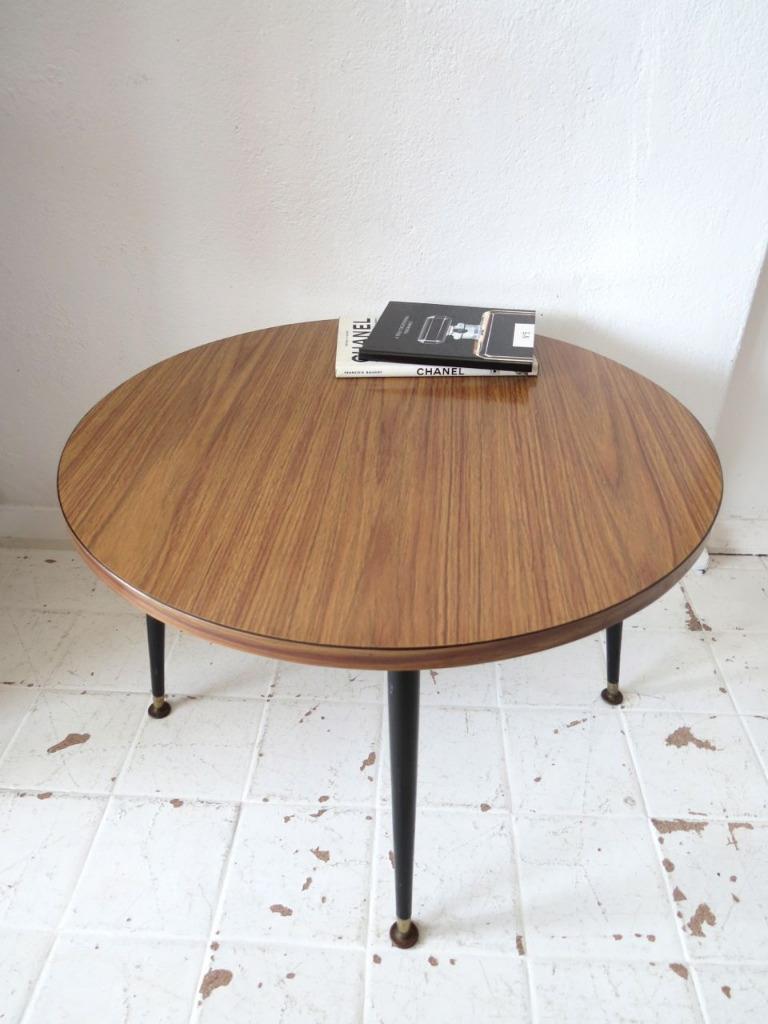 Vintage Teak Effect Coffee Table or Mid Century Modernist ...
