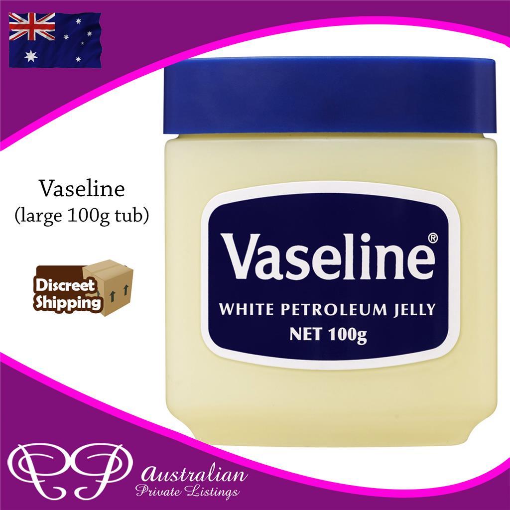Vaseline Large 100g Gram Tub Petroleum Jelly Cream For Dry