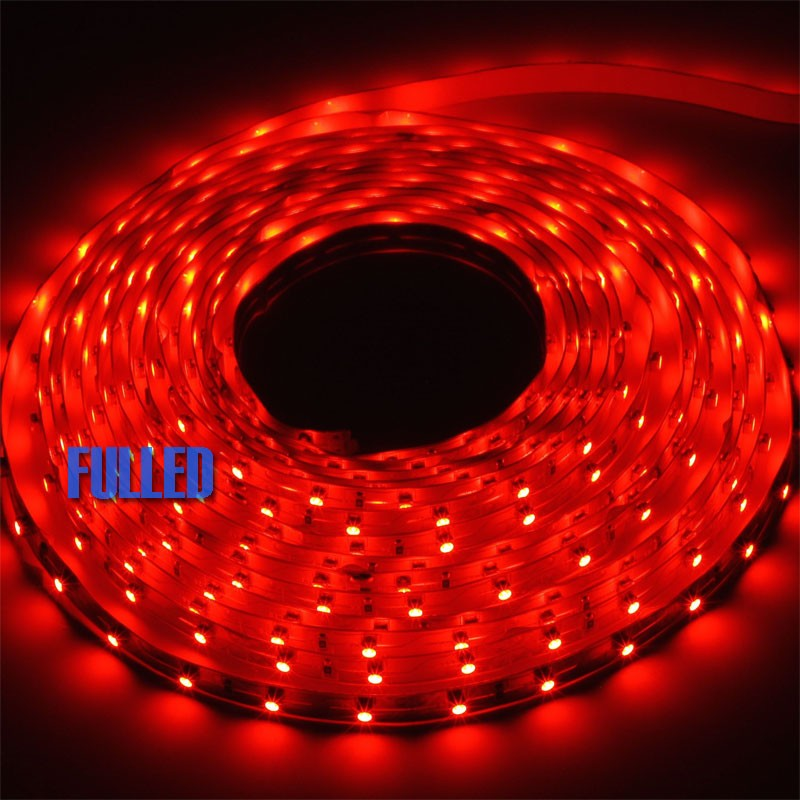 5m led strip netzteil rot trafo 12v led streifen lichtkette band leiste tr3u5 ebay. Black Bedroom Furniture Sets. Home Design Ideas