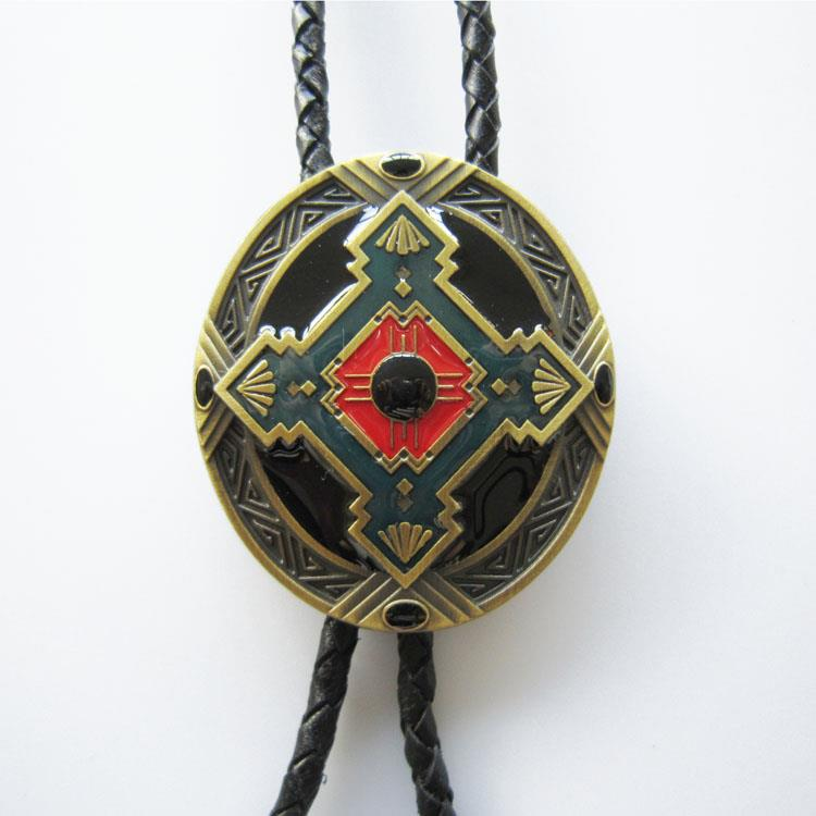 Men Western Retro Native American Bolo Tie Antique Indian ... |Bolo Western Artwork