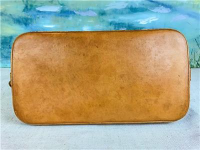 1530 LOUIS VUITTON Alma Brown Monogram Canvas Satchel Bag Leather ... d1d7d0f595