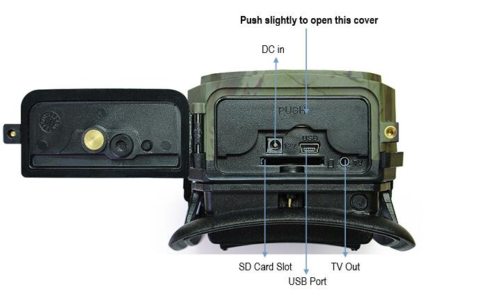 3g Trail Camera Home Security Hunting Scout Farm Night
