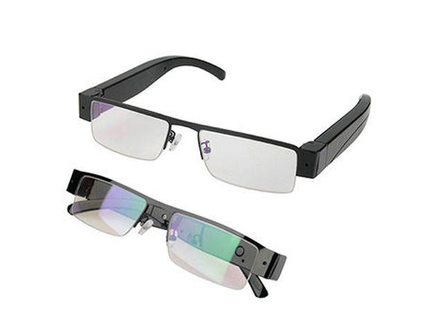 30ce6a4c318 This pair of Full HD Security Spy Camera Eye Glasses has a modern look and  designer feel about them with a secret