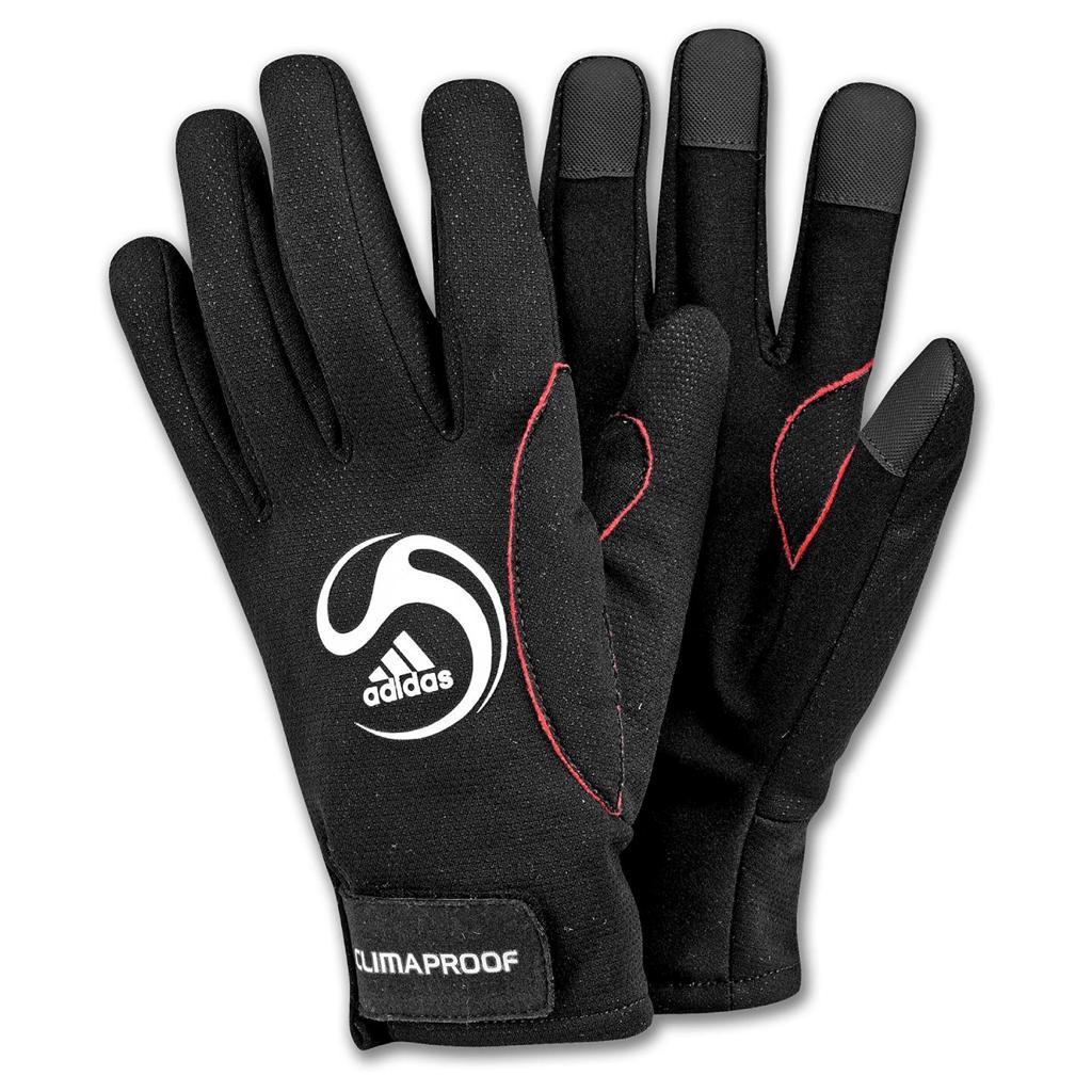 Nike Winter Gloves: Adidas ClimaProof Field Player Soccer Winter Gloves Fleece