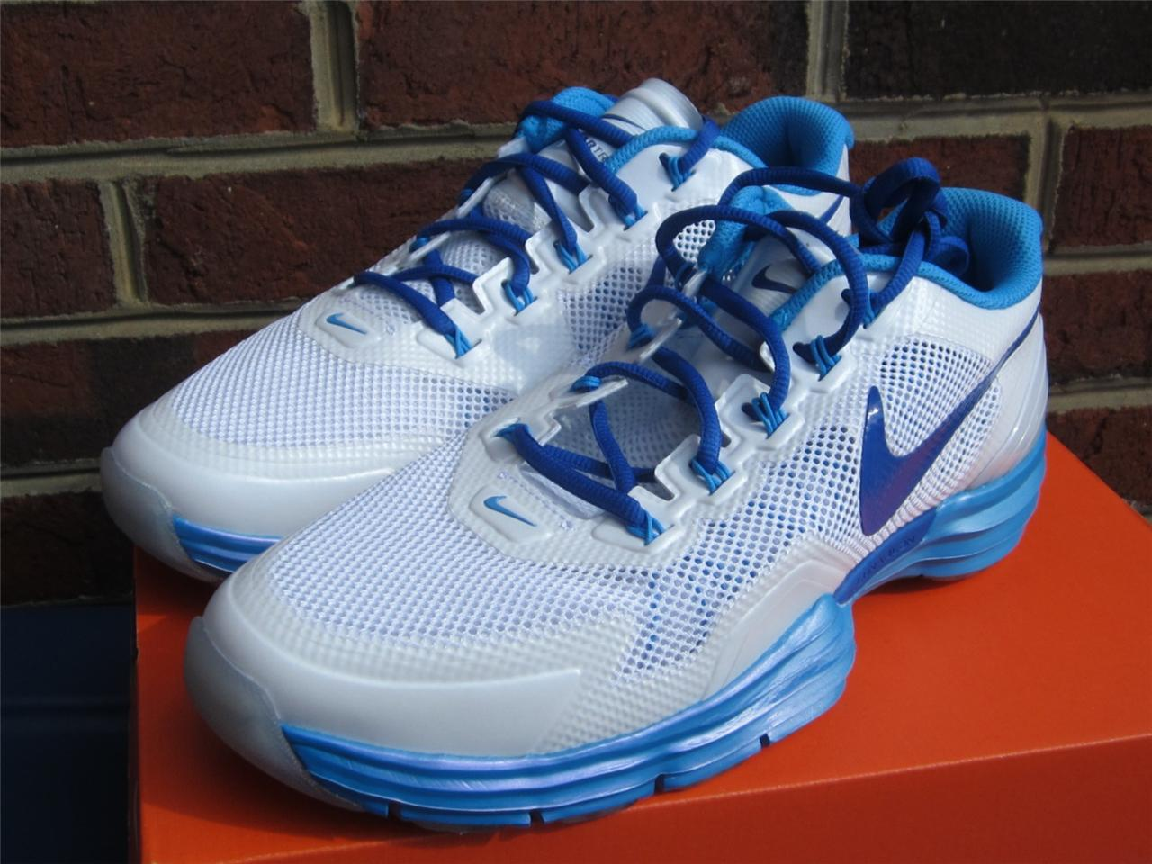 wholesale dealer 2f7ba 9b702 blue white nike lunar tr1 running shoes cross trainers tr1 white 598510 103  ...