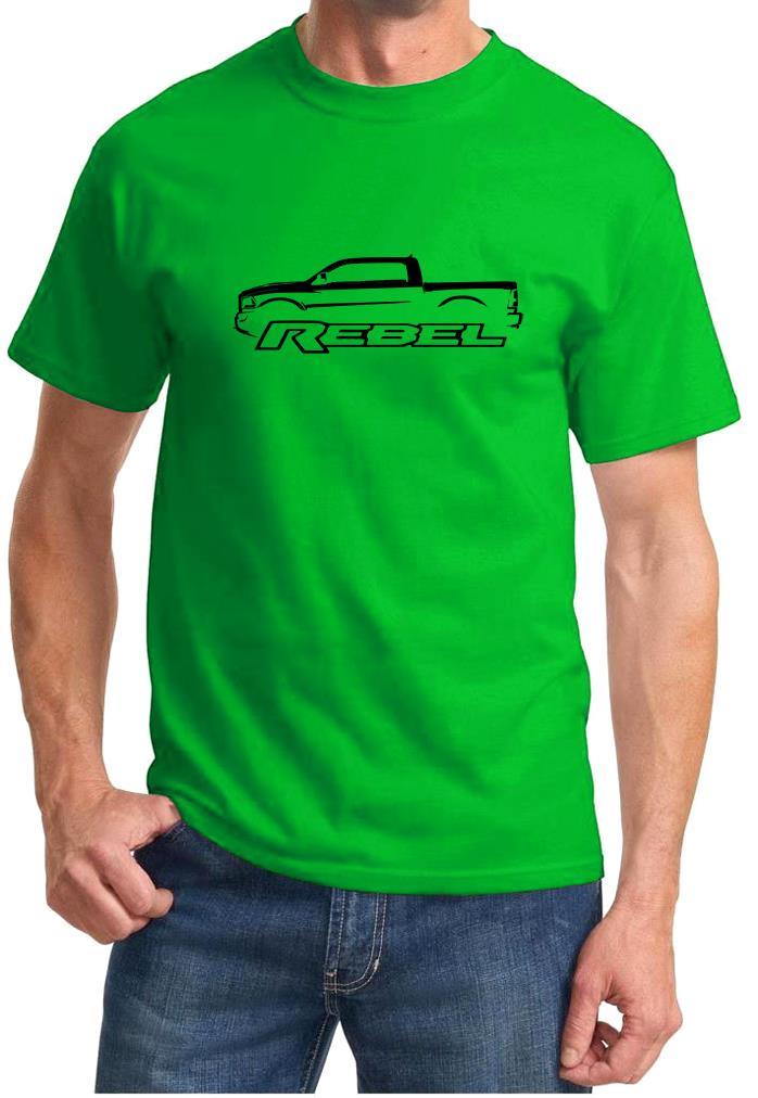 Dodge Ram Rebel Truck Classic Outline Design Tshirt New Ebay