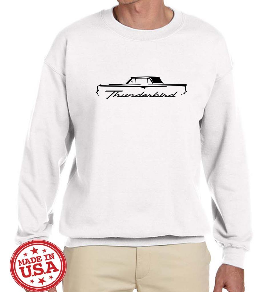 1958 60 Ford Thunderbird Hardtop Classic Car Outline Design