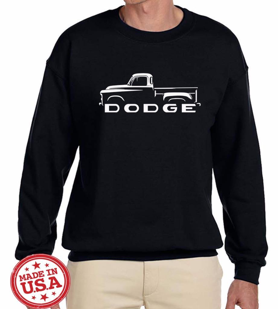 1954 56 Dodge Pickup Truck Classic Outline Design Sweatshirt New Ebay