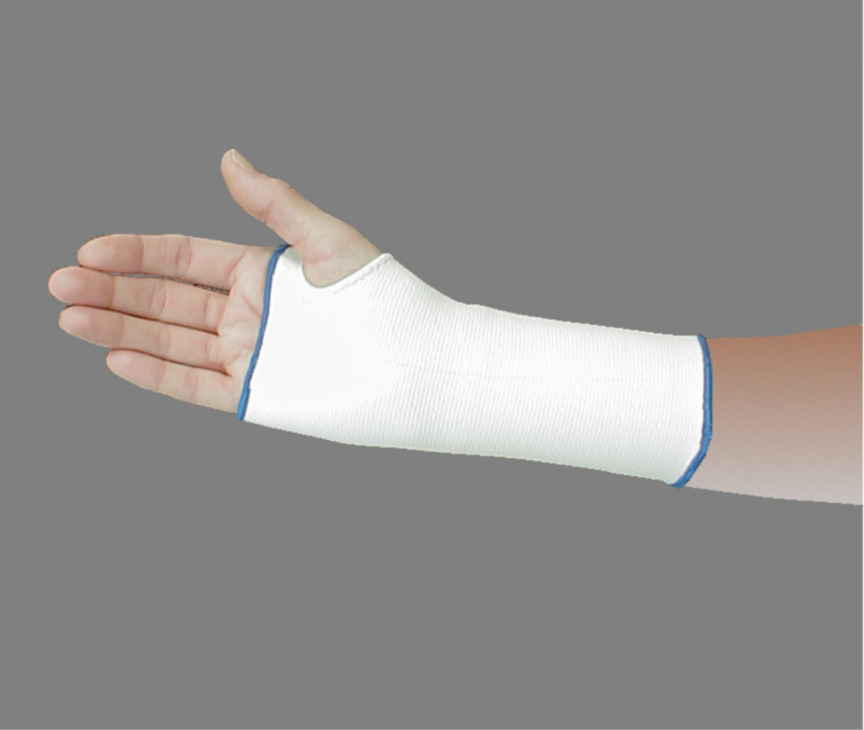 Compression Support Wrist and Hand Brace w/ Thumb Hole ...