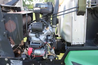 john deere 425 kawasaki fd620 engine   ebay john deere bp50 kawasaki engine schematics john deere lawn mower wiring schematics #5