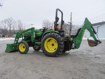 John Deere 4310 4x4 Tractor Loader Backhoe 665HOURS