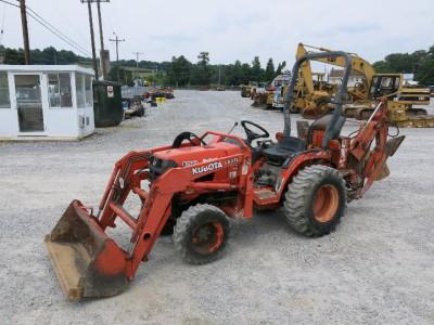 Kubota B7500 4x4 Tractor Loader Backhoe 2090 Hours Hydro