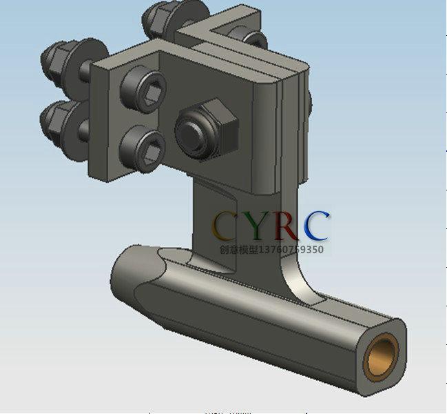 RC Boat Aluminum Φ4.76mm CNC Shaft Bracket
