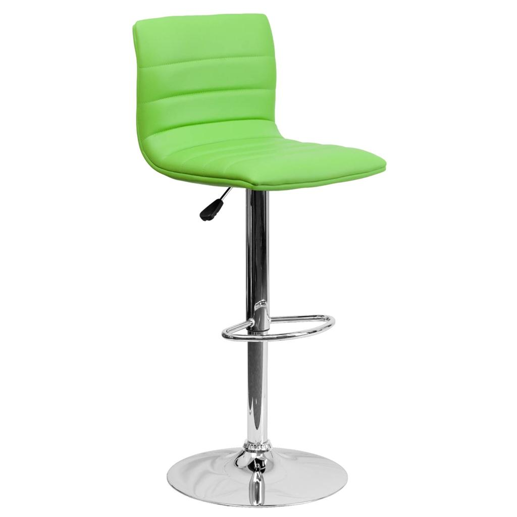 Unique Chair: Unique Modern Adjustable Height Metal Bar Stool Swivel