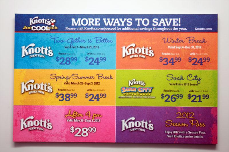 picture regarding Knotts Berry Farm Printable Coupons called Knotts daunting farm printable coupon codes 2018 / Inside retailer coupon