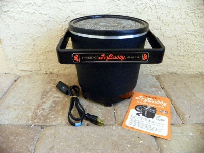 Presto Fry Daddy Electric Deep Fryer Easy Fryer with Box Manual and