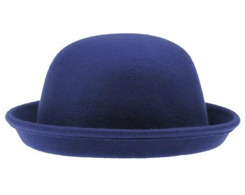 b5052008d90f3 100% Nuevo Moderno Estilo Vintage Sombrero de Bombín Mujer Lana ...