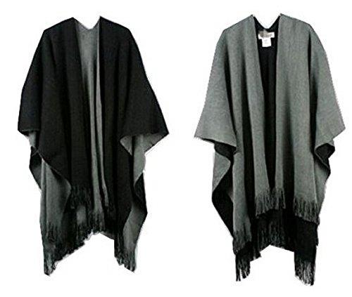 neuf dame de femmes chaude ch le enveloppant cape poncho charpe tricot gland ebay. Black Bedroom Furniture Sets. Home Design Ideas