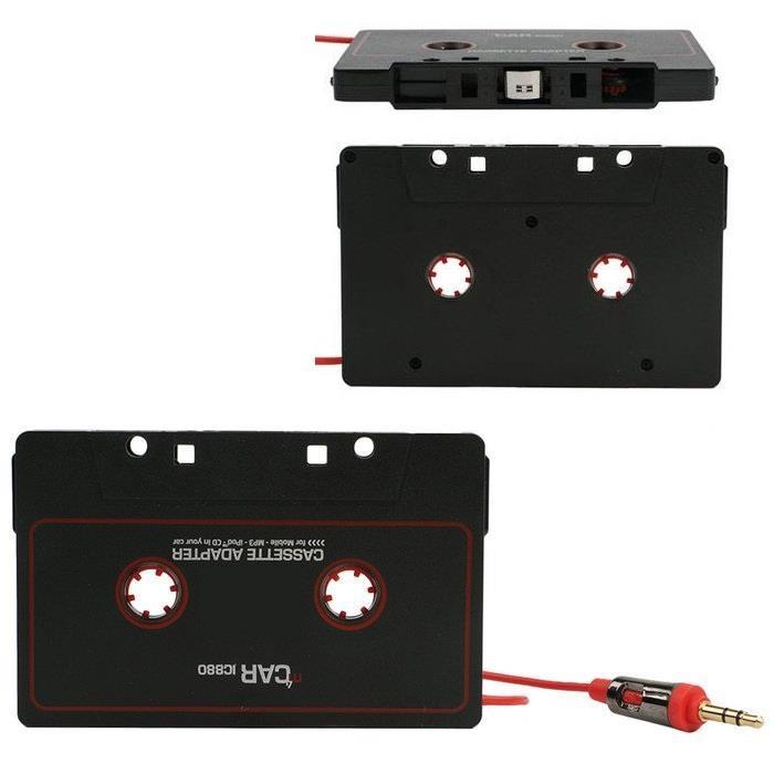 voiture audio cassette adaptateur iphone ipod mp3 cd radio nano jack aux ebay. Black Bedroom Furniture Sets. Home Design Ideas