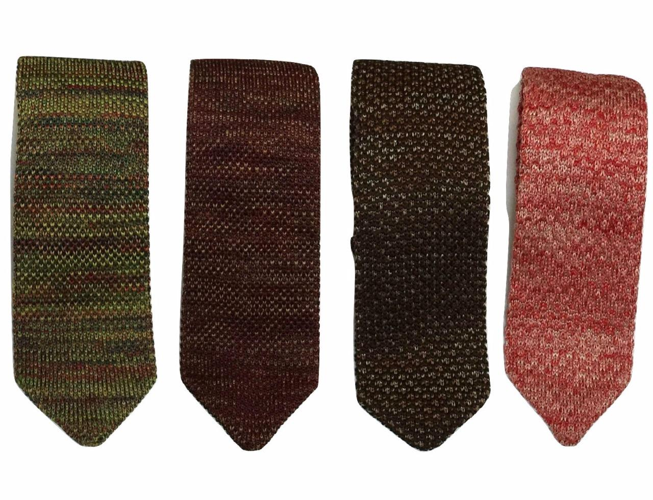 DQT Homme Tricot 7cm Slim Cravate