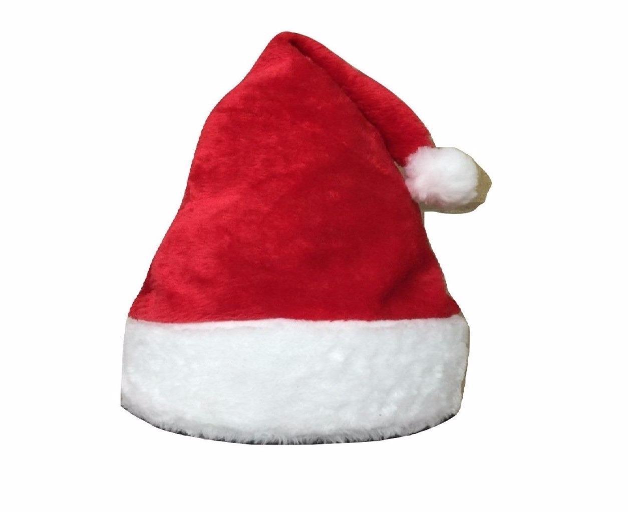 Pile di poliestere 100% rosso cappello di Babbo Natale Xmas Baby Kid UK 992093fa681f