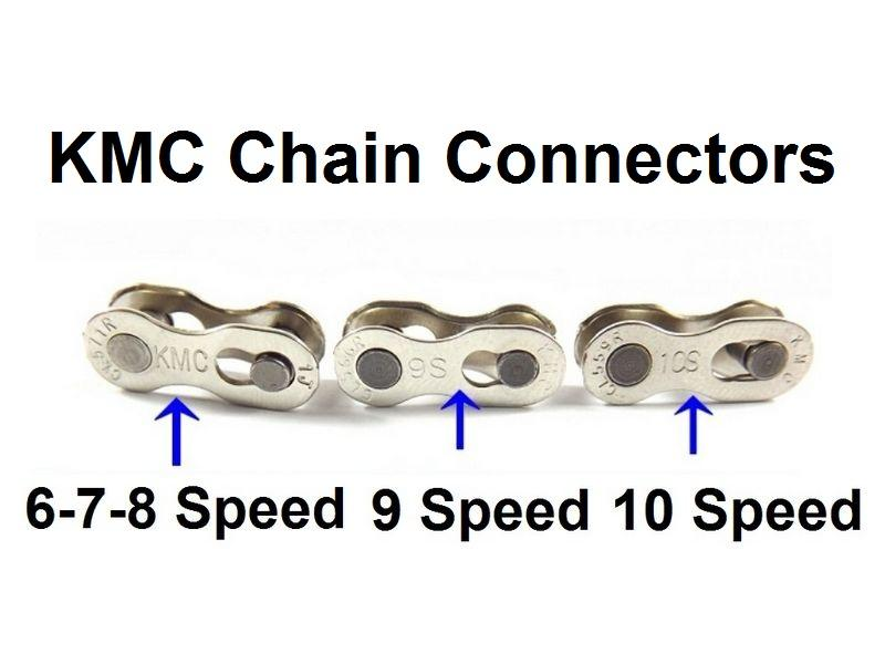 2 X Kmc Replacement Chain Link Re Usable Connectors