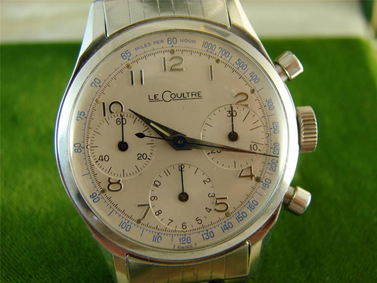 191f719d7d117 Two vintage LeCoultre chronos - Rolex Forums - Rolex Watch Forum