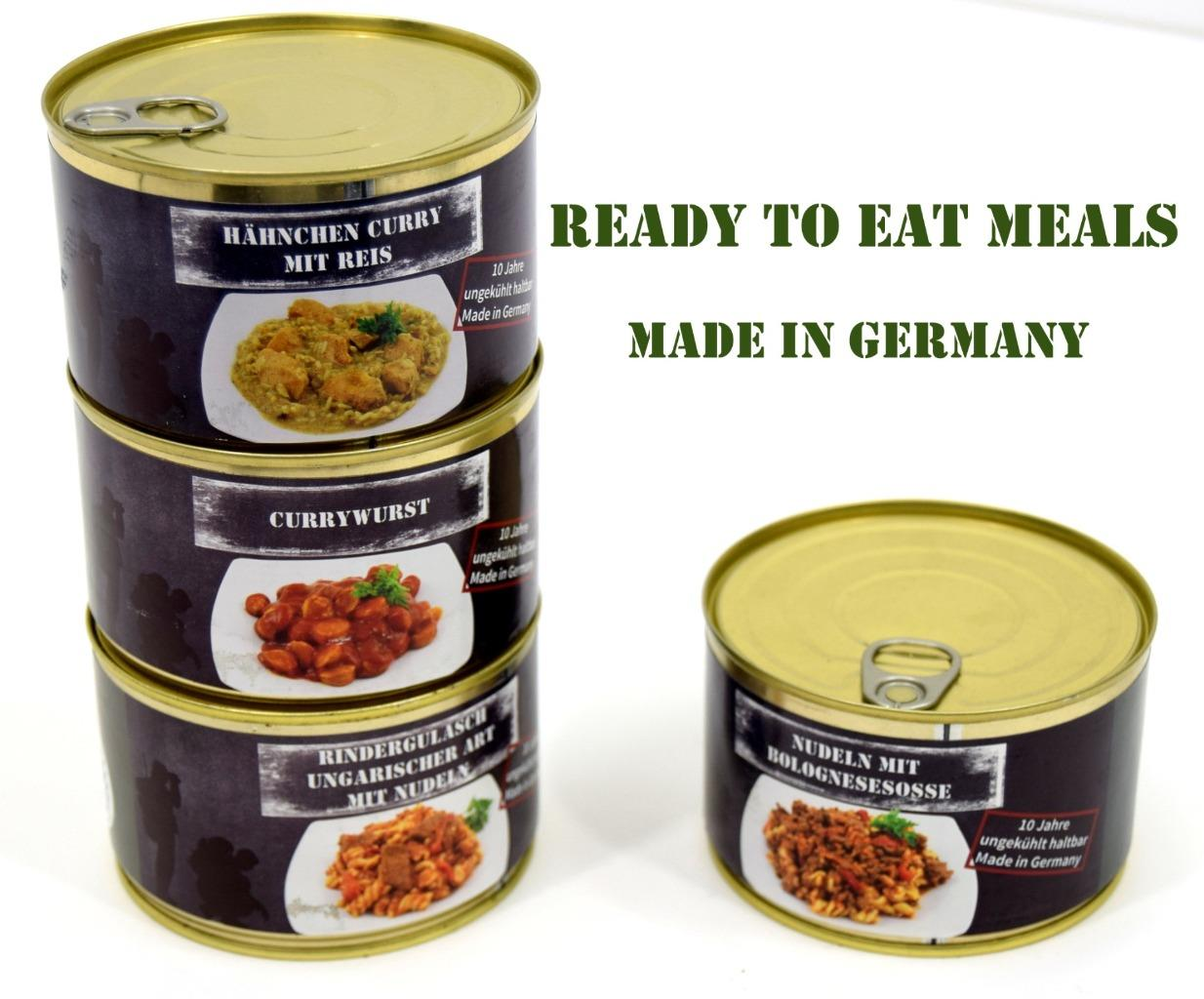 British Army MOD Ration Pack Meals MRE Camping Food Survival Fishing Scouts DofE