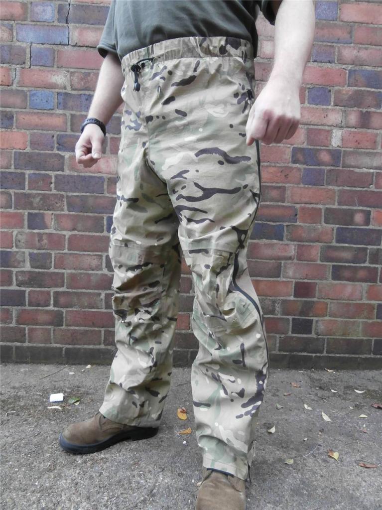 British Army Mtp Goretex Trousers Lightweight Waterproof