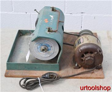 Vintage Beacon Star 6 Quot Belt Drive Bench Grinder 5195 16 Ebay