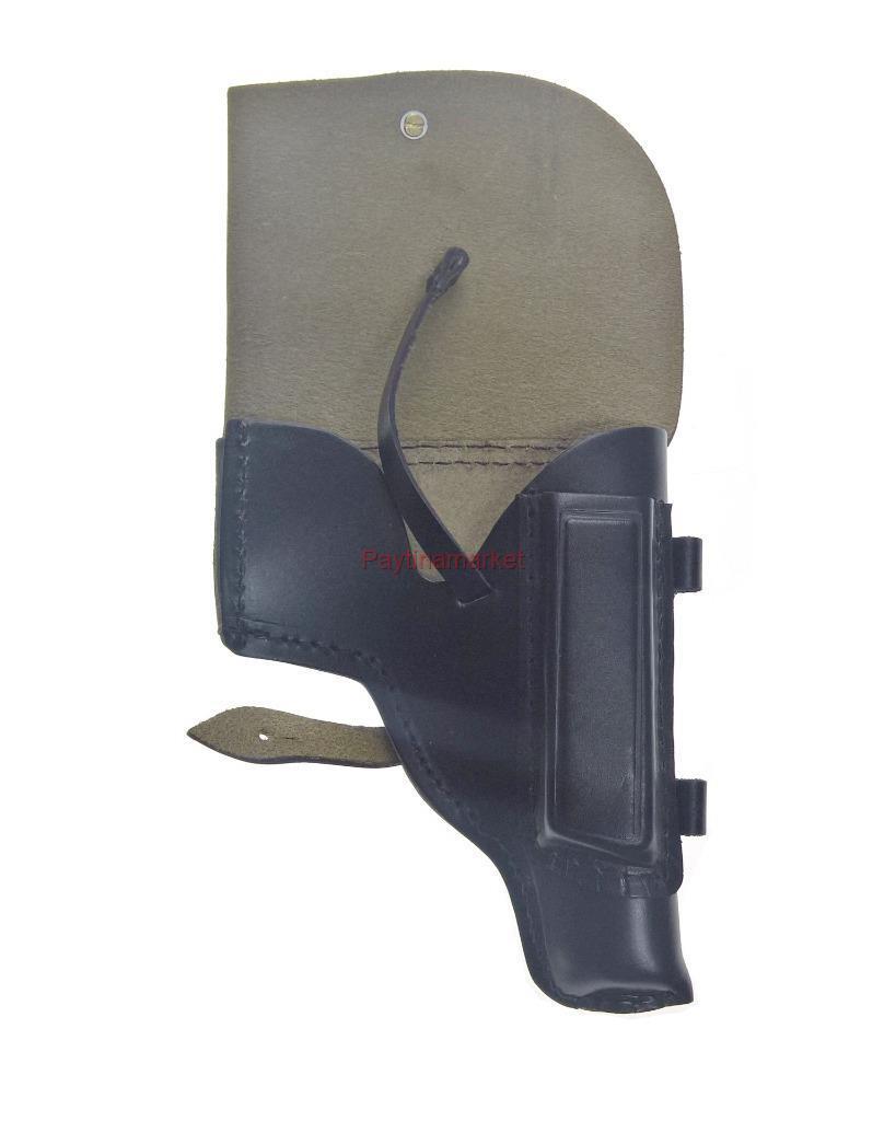 Military Russian Holster pistol Makarov White Soviet Army Officer USSR Vintage