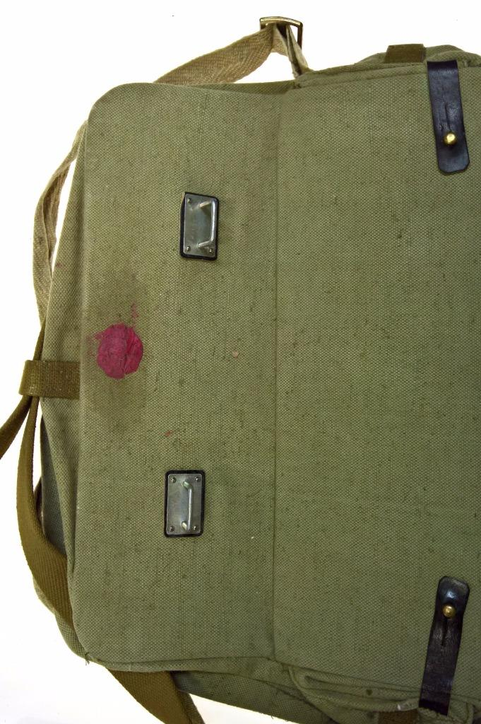 Russian Military Medical Bag Ussr Soviet Army Vintage First Aid Red Cross