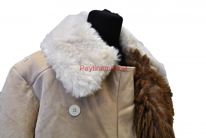 Bekesha Shearling Jacket Russian Army Officer Winter Sheepskin Coat USSR  TULUP 4e5bb7c29
