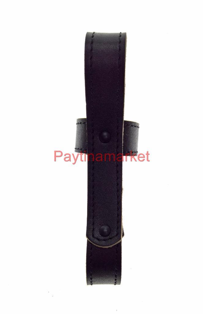 Russian Army Police Leather baton holder Black truncheon Uniform Equipment