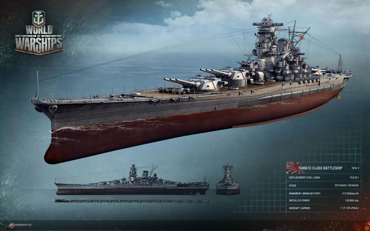 Details about Zvezda Model 9200 Kit Scale Japanese battleship Yamato World  of Warship