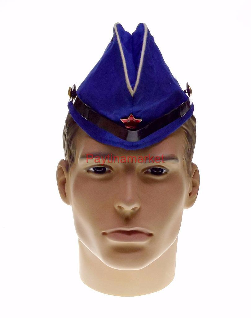 62e099105 Details about Russian Army Hat Pilotka Navy Sailor Soviet USSR Red Garrison  Marine cap Uniform