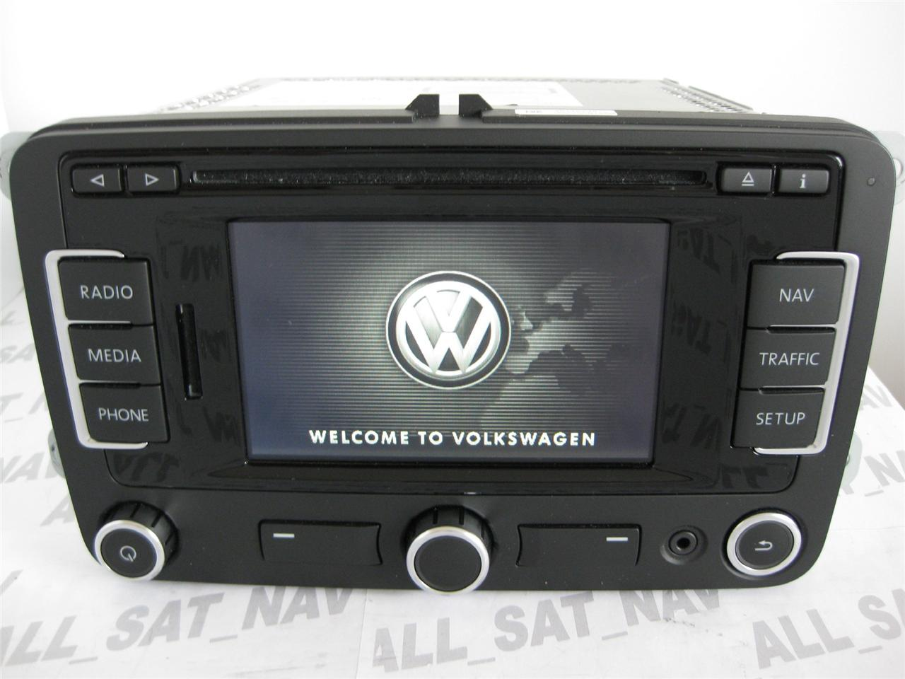 vw rns 315 rns315 bluetooth navigation system sat nav gps. Black Bedroom Furniture Sets. Home Design Ideas