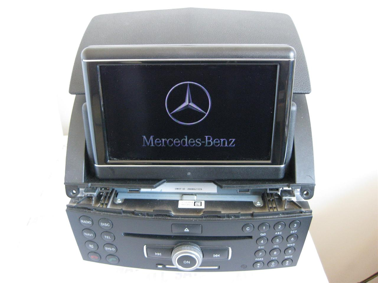 mercedes comand ntg4 w204 c class sat nav single cd. Black Bedroom Furniture Sets. Home Design Ideas