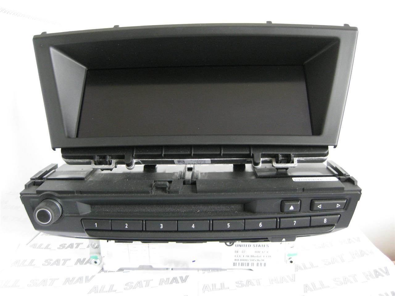 bmw x5 ccc sat nav navigation system set dvd 2013. Black Bedroom Furniture Sets. Home Design Ideas