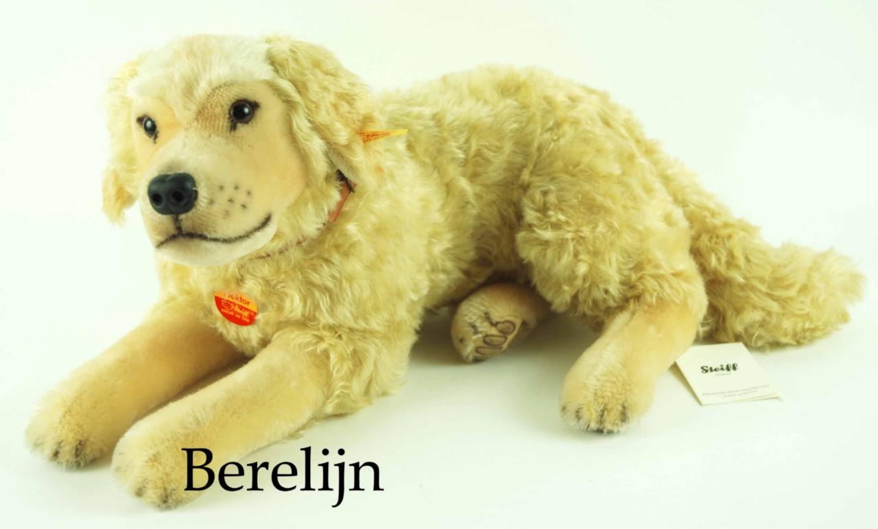 Steiff Hektor Golden Retriever Dog 031755 Retired