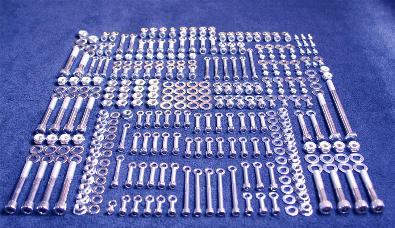 Honda Z50a 1969 1971 231 Piece Polished Stainless Steel Bolt Kit Z 1970 Ct70 Blue 50 A Ebay