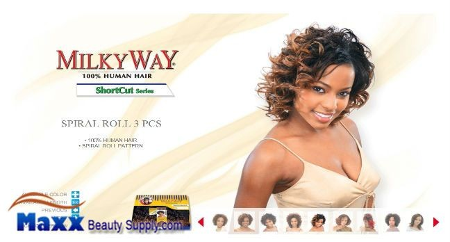 MilkyWay Human Hair Weave Short Cut Series