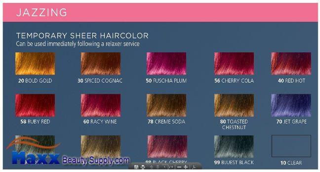 Clairol Jazzing Semi Permanent Hair Color 3oz 4 99