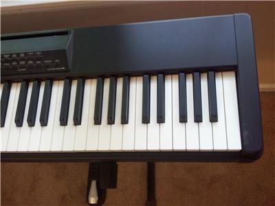yamaha p 80 weighted 88 key digital electric piano keyboard ebay. Black Bedroom Furniture Sets. Home Design Ideas