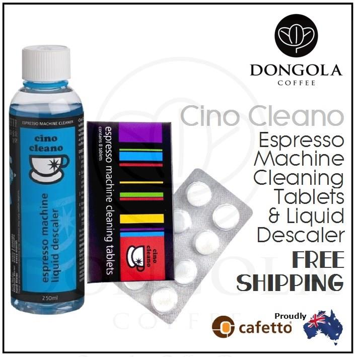Cino Cleano Espresso Coffee Machine Cleaning Cleaner Clean