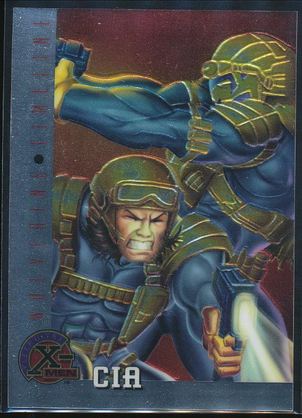 CIA #81 X-Men Chromium Fleer Ultra 1995 Trade Card C1399