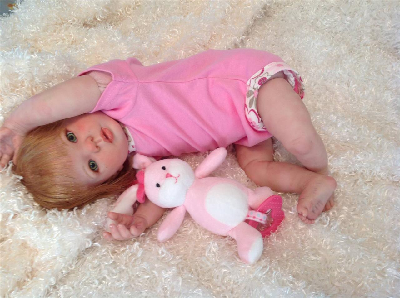 """Cute Baby Girl Micah from Kit """"Kimi"""" by Donna RuBert"""