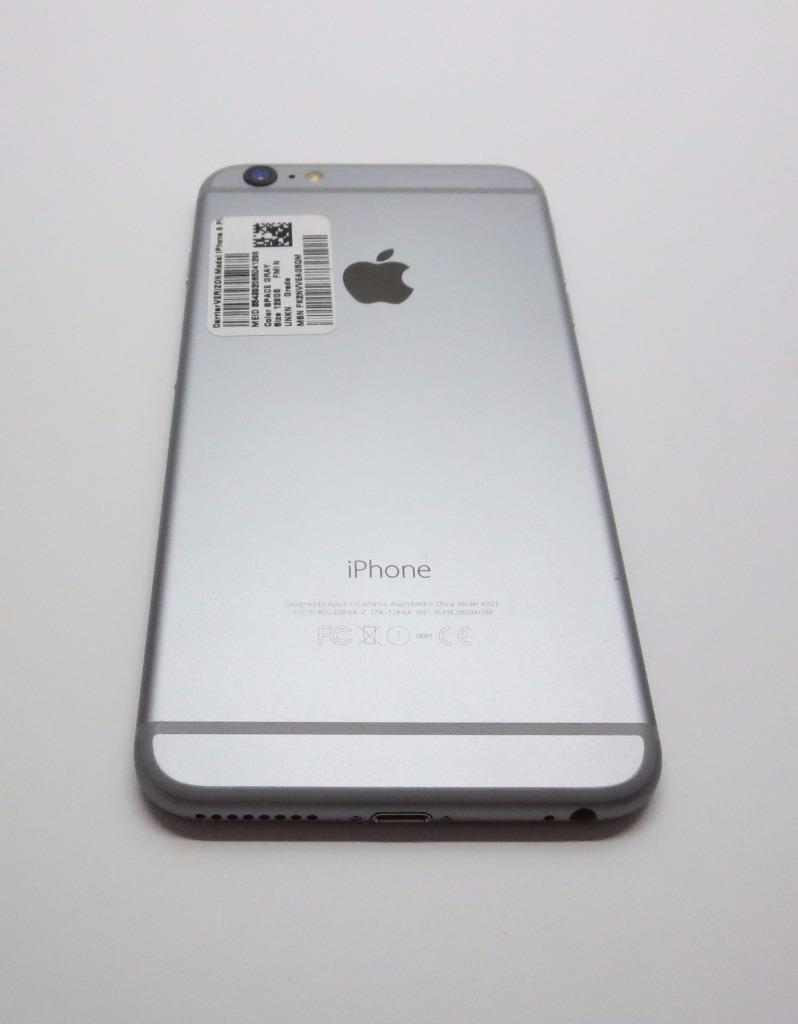 apple iphone 6 plus 16gb space gray unlocked bad. Black Bedroom Furniture Sets. Home Design Ideas