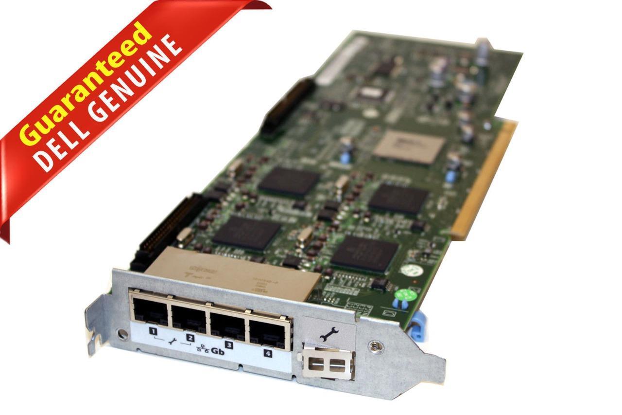 Dell 0W670G W670G R900 4-Port Gigabit PCI-E Network Interface Card w// 0WW126