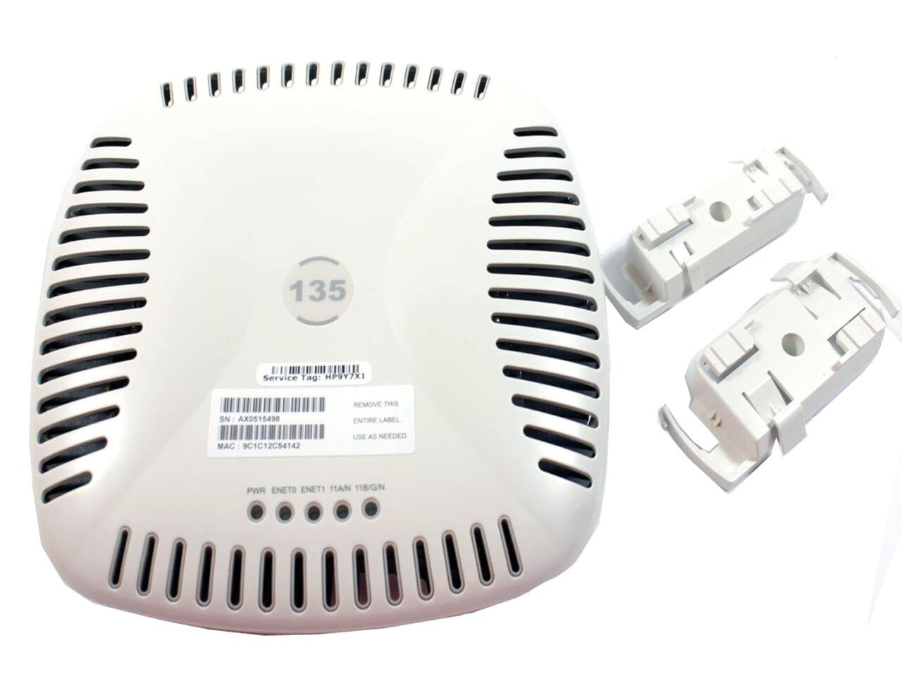 LOT OF 2 Aruba AP-124  IEEE 802.11a//b//g//n Dual Band Indoor Wireless Access Point